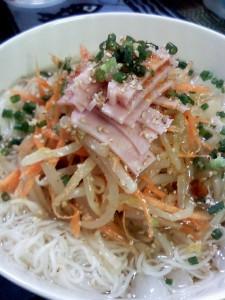 冷麺風ソウメン